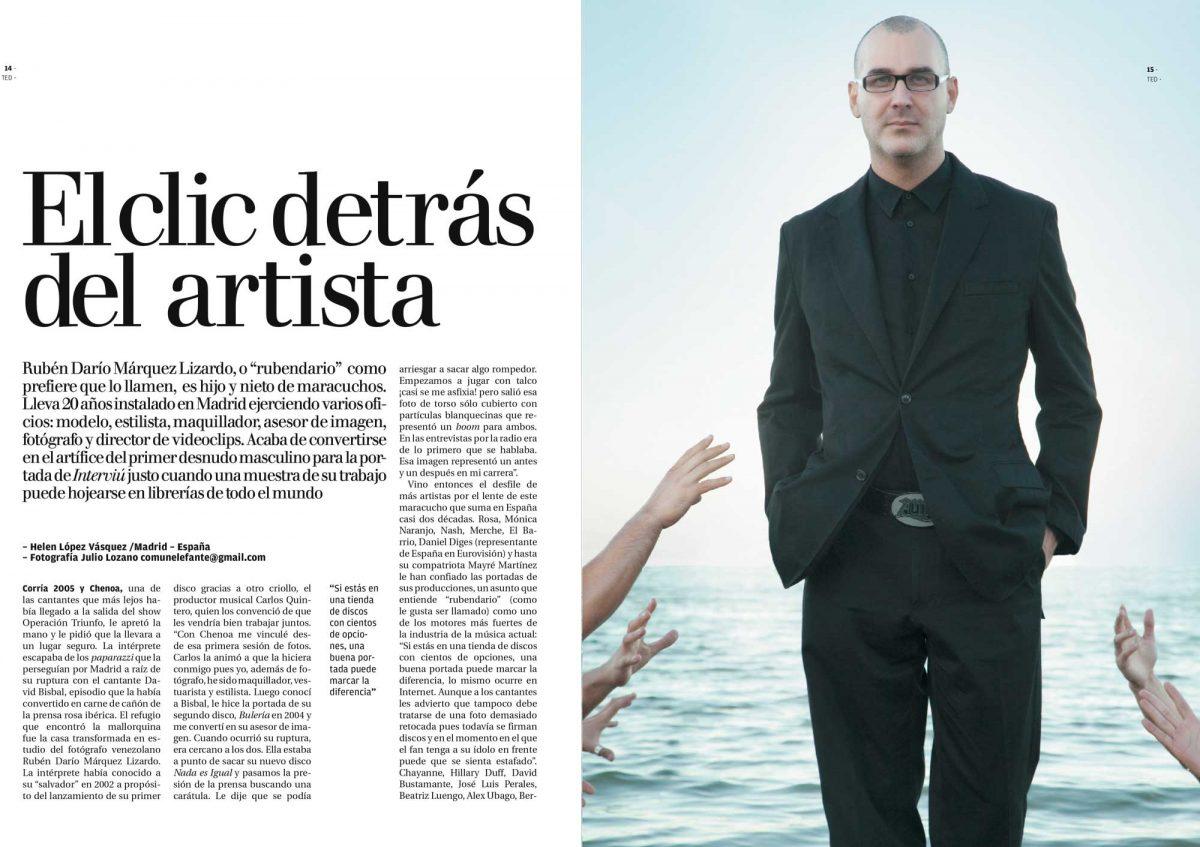 Entrevista Rubendario El Nacional pg 1